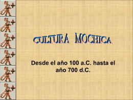 Cultura-Mochica