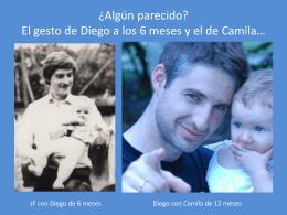 ¿Algún parecido? El gesto de Diego a los 6 meses y el de Camila*