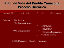 PLAN DE VIDA DEL PUEBLO YANACONA