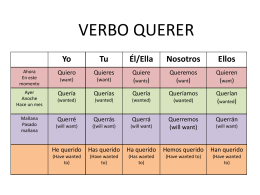 verbo querer.ppt