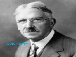 john dewey diapositiva