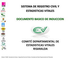 manual basico de induccion de estadisticas vitales