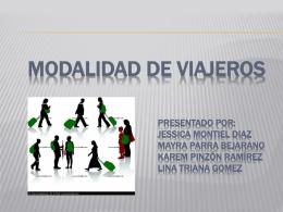 MODALIDAD DE VIAJEROS