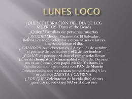 LUNES LOCO