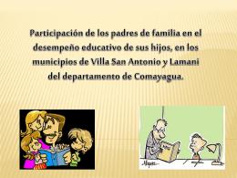 monitoreo padres comayagua - investigacioncuantitativaupnfm