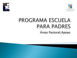 Estructura Programa Escuela Para Padres