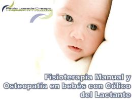 Fisioterapia Manual y Osteopatía en bebés con Cólico del Lactante