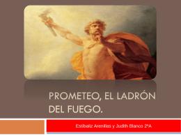 Prometeo, el ladrón del fuego