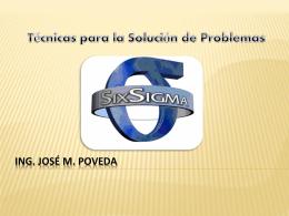 Seis-Sigma(SS) - Ing. José Manuel Poveda