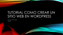 TUTORIAL COMO CREAR UN SITIO WEB EN