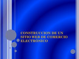 construccion de un sitio web de comercio electrónico