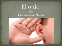 El oído - Anatomía y Fisiología Humana