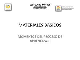 Diapositiva 1 - Escuela de Mayores