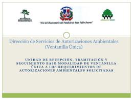 Dirección de Servicios de Autorizaciones