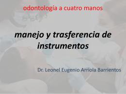 odontología a cuatro manos trasferencia