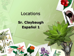 Locations - claybaughspanish