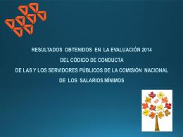 Presentación de PowerPoint - Comisión Nacional de los Salarios