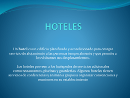 HOTELES - colorespacio