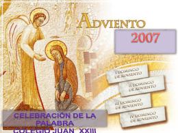 Decálogo adviento - Twitter Parroquia Santa María Micaela