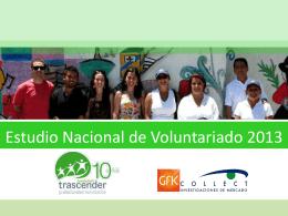 Estudio Nacional de Voluntariado 2013 v3 (1)