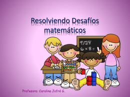 Resolviendo Desafíos matemáticos2