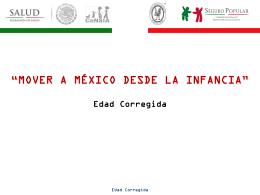 Edad Corregida - Hospital Infantil de México Federico Gómez