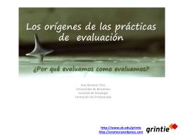 La evaluación: evaluar para ayudar aprender