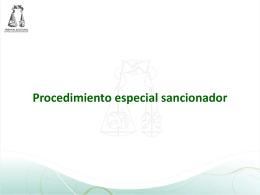 Procedimiento Especial Sancionador - Instituto Estatal Electoral y de