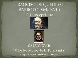 FRANCISO DE QUEDEVO