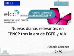 Nuevas dianas relevantes en CPNCP tras la era de EGFR y ALK