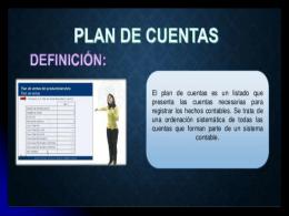 CLASE PLAN DE CUENTAS