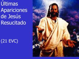 Ejercicio 21 EVC - Resurrección- Ultimas