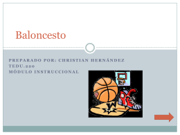 Baloncesto - WordPress.com