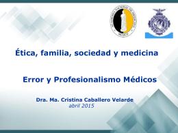 Dra. Ma. Cristina Caballero Velarde