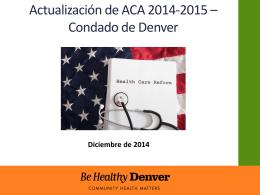 personas sin seguro médico en Denver