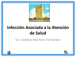 Infección Asociada a la Atención de Salud