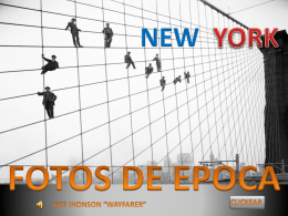 "fotos de epoca new york jeff jhonson ""wayfarer"""