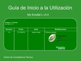 Guía de Utilización