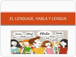 el lenguaje, habla y lengua - Blog Desarrollo Empresarial UNEFM