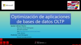 Optimización de aplicaciones de bases de datos