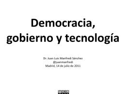 Cómo hemos llegado al #15M - Blog de Juan Luis Manfredi