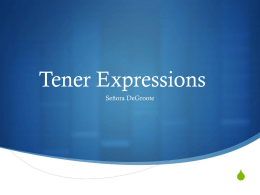 Tener Expressions - Waukee Community School District Blogs