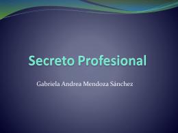 Secreto Profesional - Carpe Diem – Cogito ergo sum