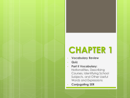 CHAPTER 1 - Madison County Schools
