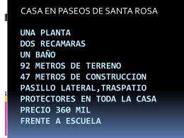Una planta dos recamaras UN BAñO 92 metros de terreno 47