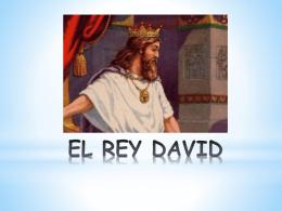 EL REY DAVID - Centro Educativo Particular Santa Ursula