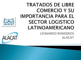 tratados de libre comercio y su importancia para el sector logistico