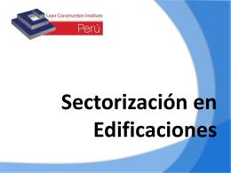 Sectorización en Edificaciones