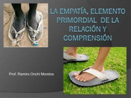 la empatía, elemento primordial de la relación y
