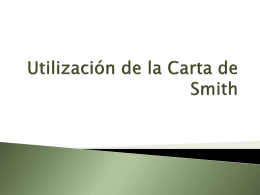Utilización de la Carta de Smith